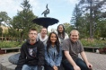 Team Culture: (Left to right) Ryan Schaal, Markus Linz, Rose Mikhail, Janice Loh and Brendan Janostin.