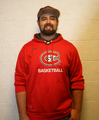 SCSU's Coordinator of Sports Facilities Matthew Bueckers, taken in Halenbeck Hall, on the campus of St. Cloud State University, in St. Cloud, Minn., Wednesday, OSep. 26, 2018. (Photo/AJ Fredrickson)