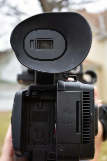 St. Cloud State University Mass Communications Department Panasonic 4K camera, located in St. Cloud, Minn., Tuesday, Oct. 30, 2018. (Photo/Taylor Ritenour)